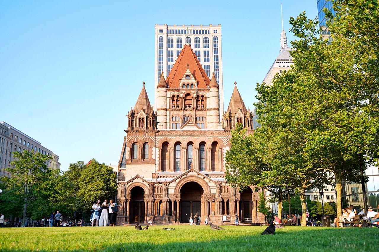 建物探訪も楽しめるボストン