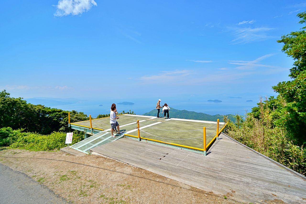嵩山からの絶景は必見!話題のインスタ映えスポット