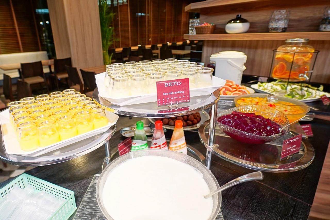 和食メインの豊富な朝食ブッフェメニュー