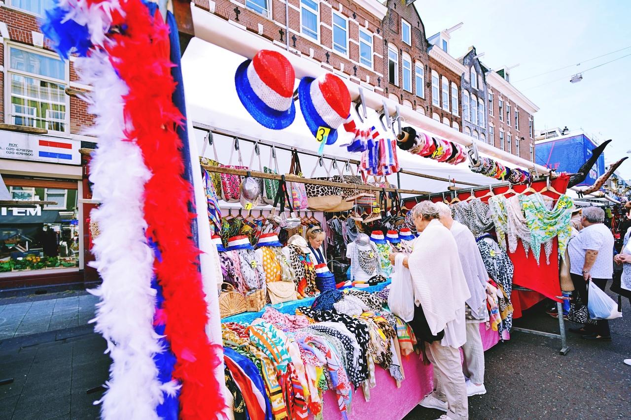 オランダ最大規模!「アルバートカイプ・マーケット」