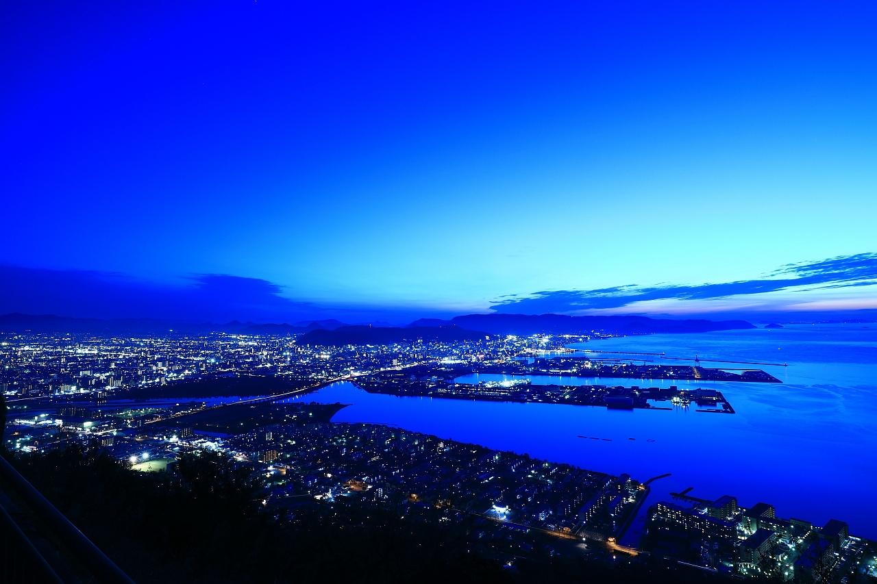 高松「屋島展望台」からの夕景&夜景