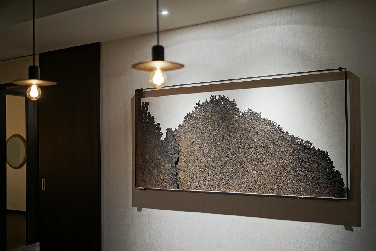 「ふふ 奈良」を飾るアートの数々