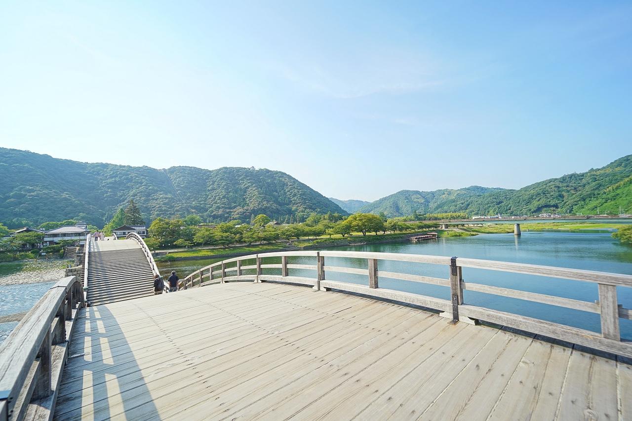 外せない定番スポット!「岩国・錦帯橋周辺エリア」