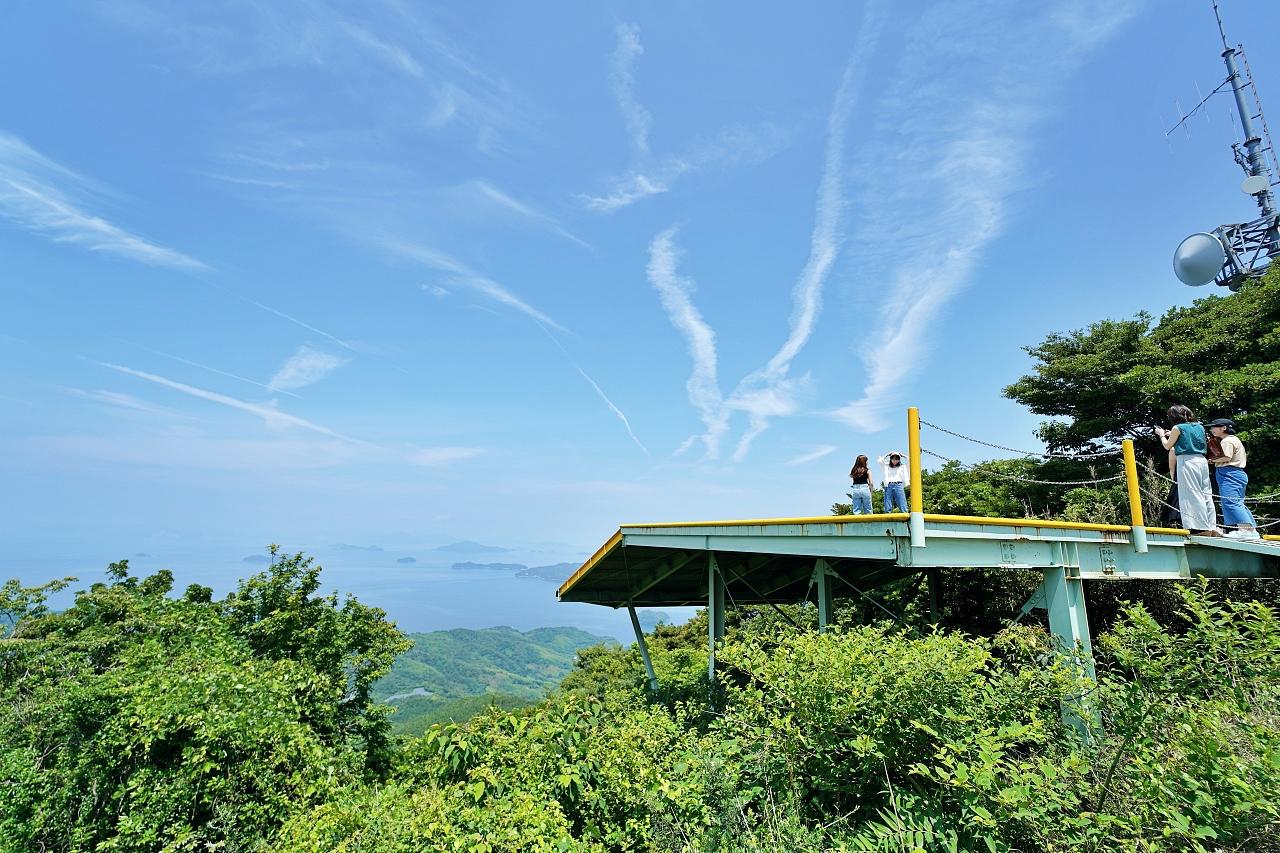 嵩山展望台からの景色は圧巻!「周防大島エリア」