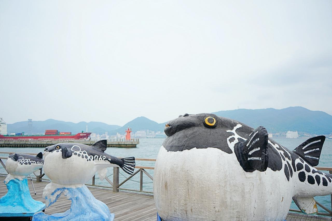 関門海峡を見渡せる!「下関エリア」