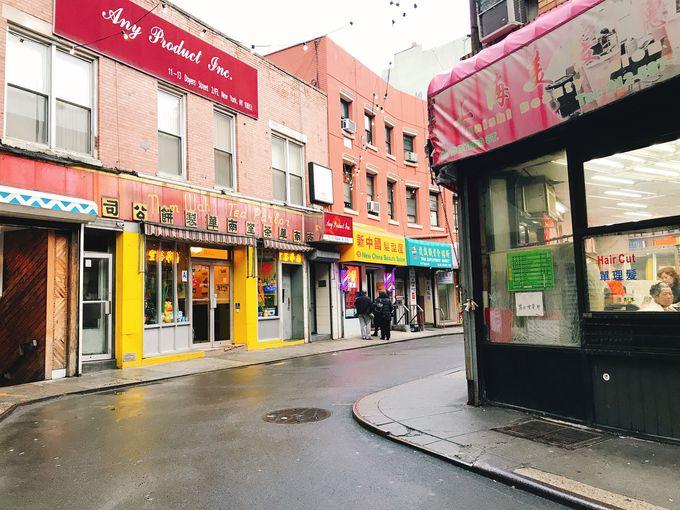 チャイナタウンで中華マフィアを想像しながらランチ