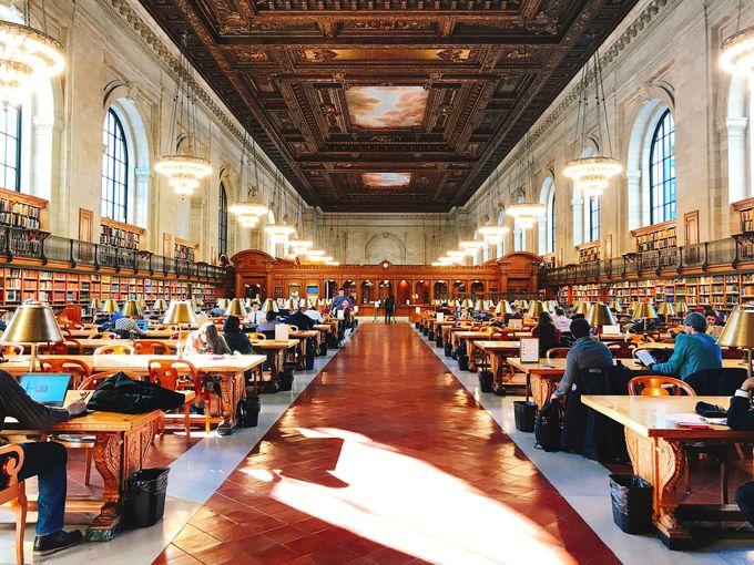 ラストはやはり美しくも切ない「ニューヨーク公共図書館」へ