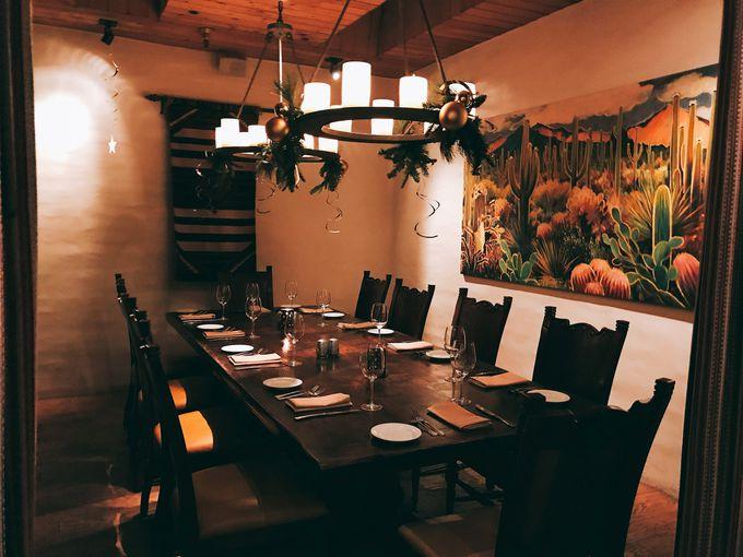 食事は全米でも有名なレストラン「ロンズ」で
