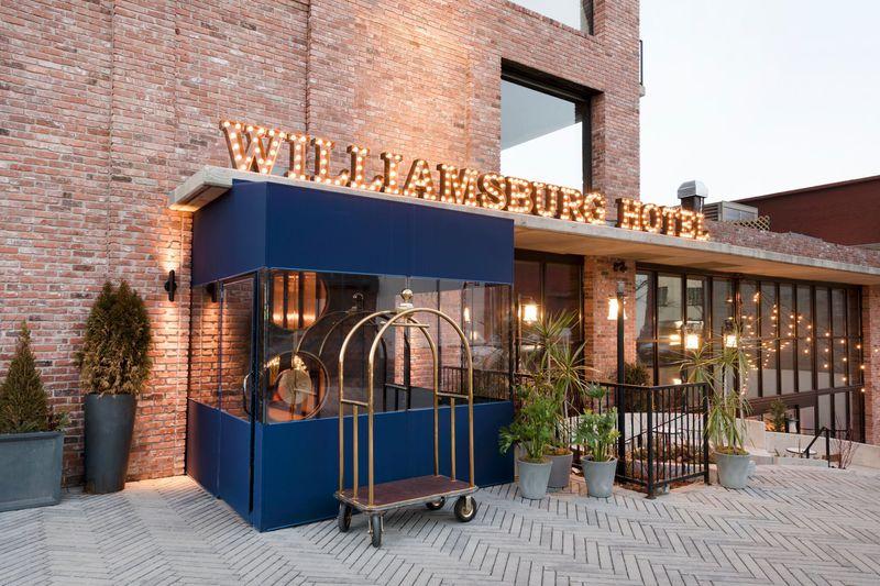 ブルックリン人気スポット、ウィリアムズバーグホテルに行こう!
