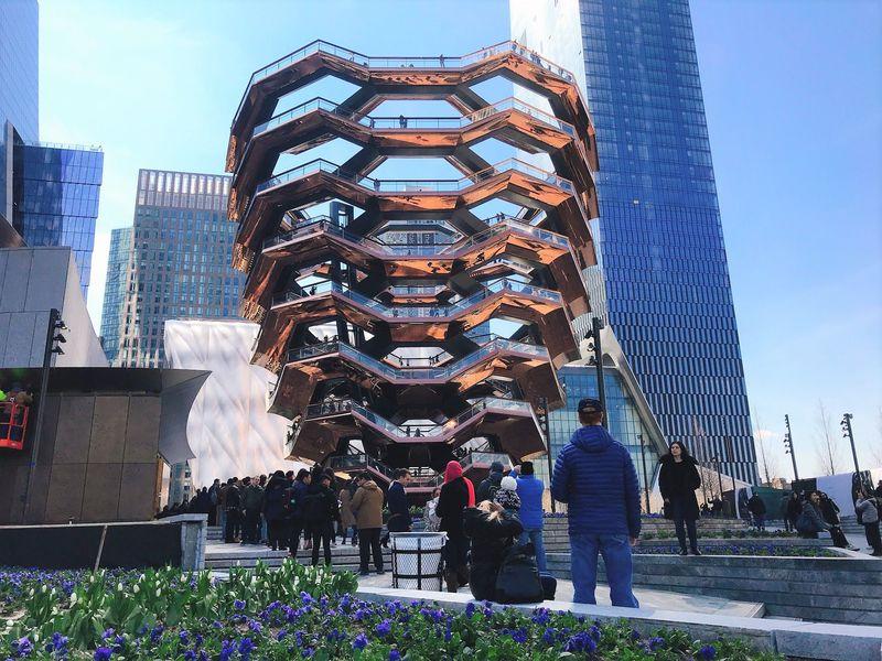 ニューヨークの新名所!展望台「ベッセル」に登ろう