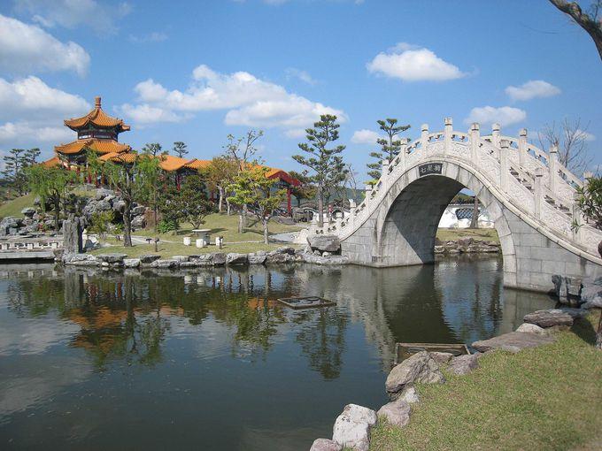 本格的な石造りの橋