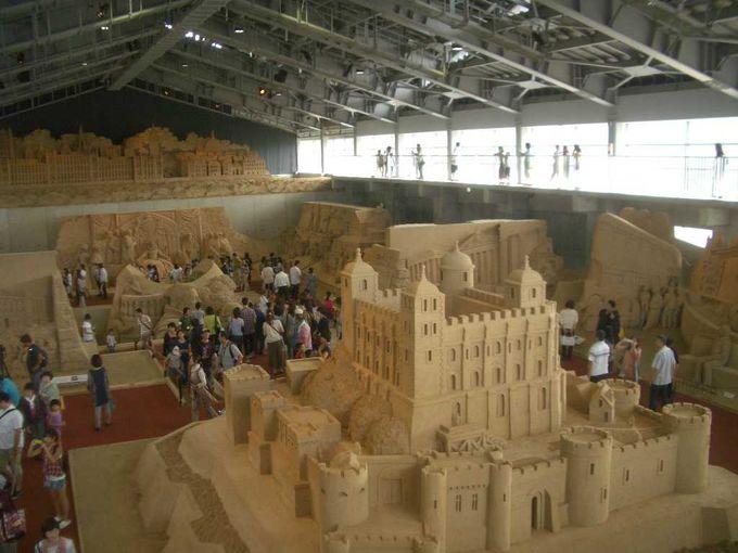 鳥取砂丘と合わせて行きたい!砂の彫刻が儚く美しい「砂の美術館」