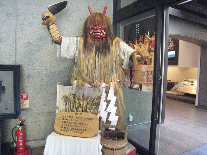 男鹿半島1200年の伝統に触れる!「なまはげ」体験と「なまはげ柴灯(せど)まつり」