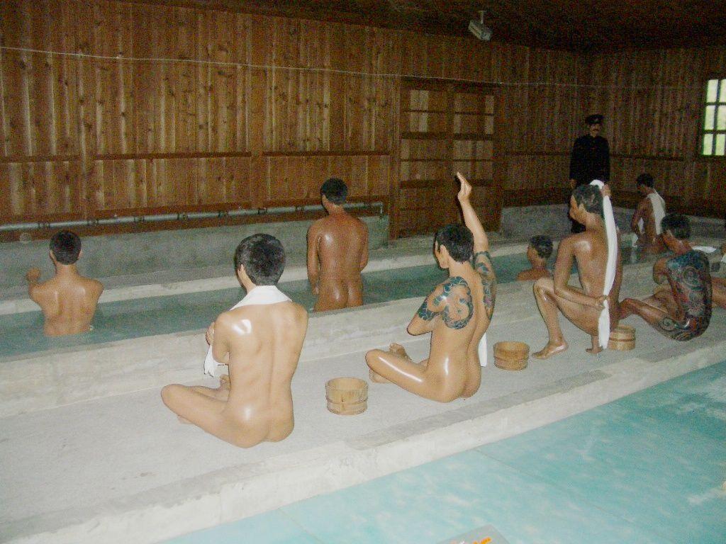 厳しい生活の中での楽しみ(入浴)