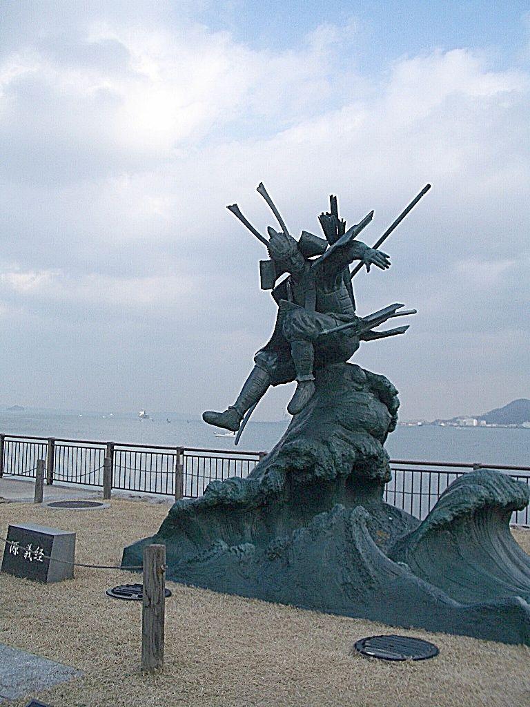 もう一つの歴史「壇ノ浦の戦い」で活躍する義経像