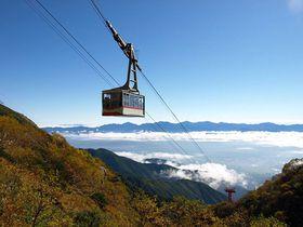 駒ヶ岳ロープウェイで雲上の楽園へ!信州にて天空の散策!