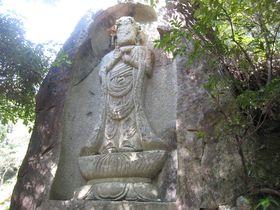 全国でも珍しい・40体の磨崖仏から貰う800年のパワー!三重県津市