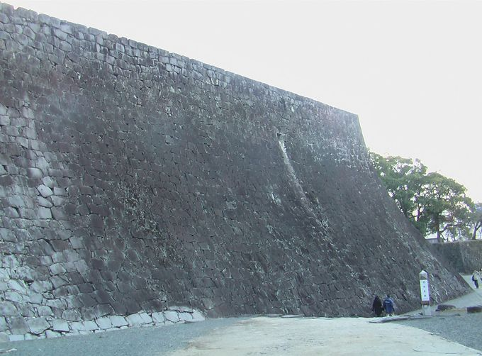 石垣が語る熊本城