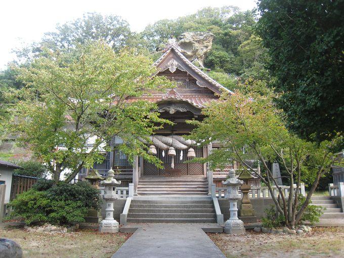 石見神楽(かぐら)も愉しめる「龍御前(たつのごぜん)神社」