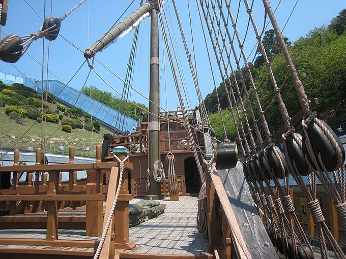 ガリレオ船の美しさ
