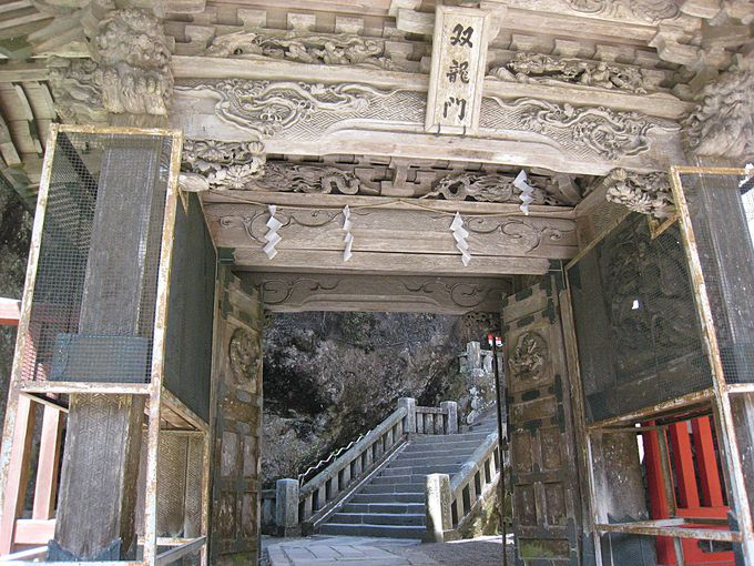 榛名湖からスグ行ける!群馬の要塞パワースポット「榛名神社」