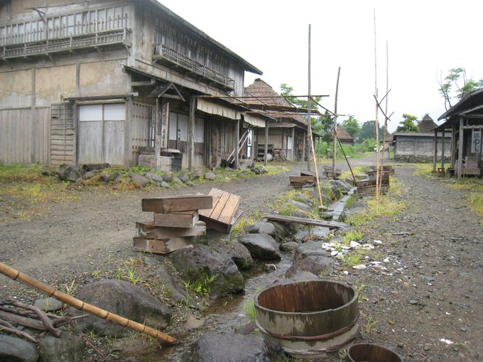 実際に使われていた漁師小屋