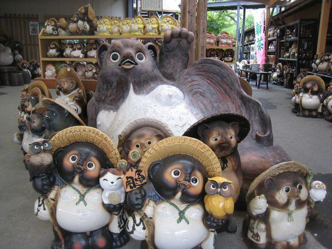ようこそ狸の町へ!たぬきの置物でおなじみ滋賀県「信楽焼」