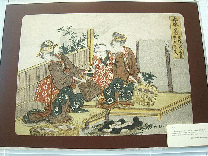 江戸時代から焼きハマグリがお勧め!