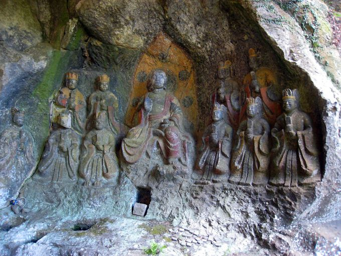 悠久の時を刻む「臼杵磨崖仏」は現代人のパワースポット