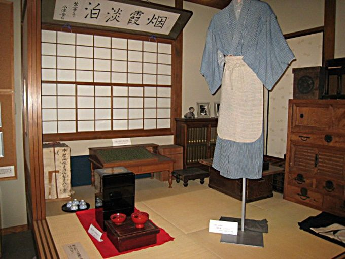 昭和初期を彷彿させる和室コーナー