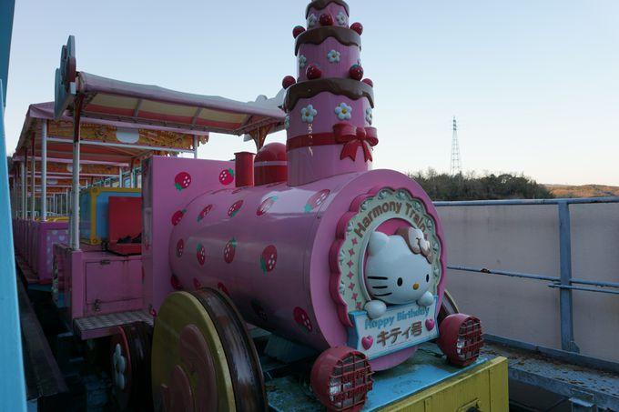 園内はまるでおとぎの国「サンリオキャラクターパーク・ハーモニーランド」