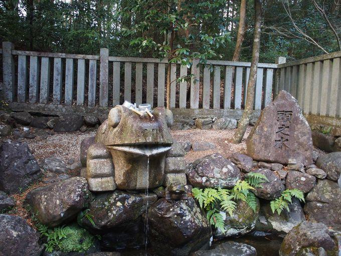 知恵の水「頭之水」