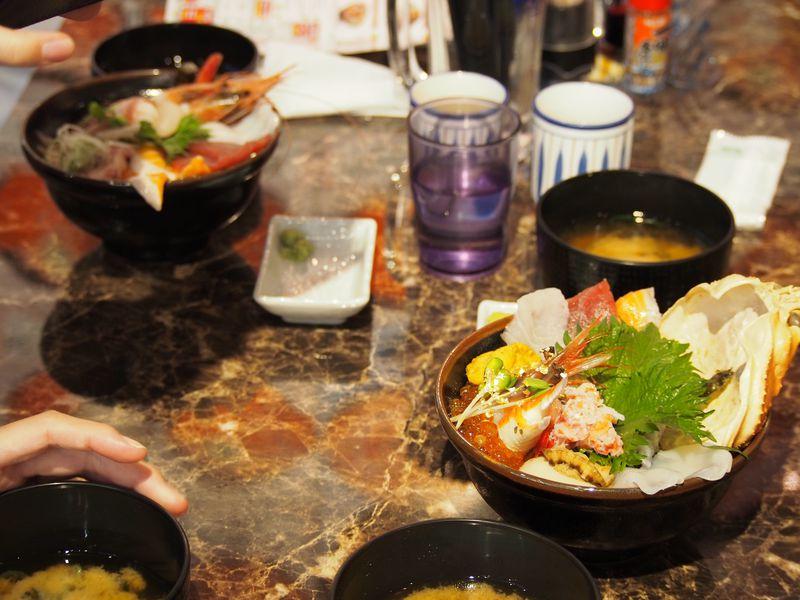 やっぱりお勧めは「海鮮丼」