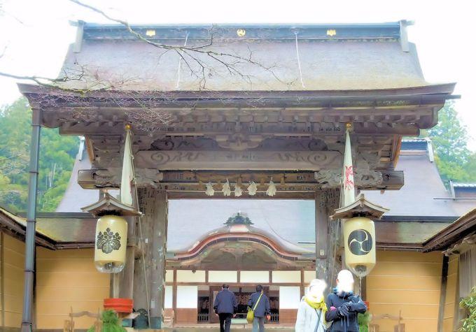 「高野山」の中心にそびえるシンボル、金剛峯寺