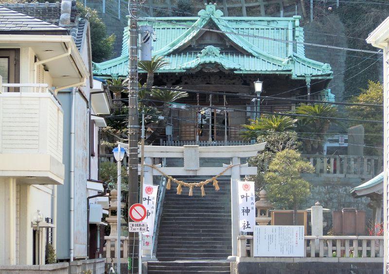 維新の立役者のひとり、勝海舟が断食!?浦賀の「加納神社」