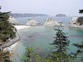 大津波から復興を遂げた美しい景観!岩手県「浄土ヶ浜」