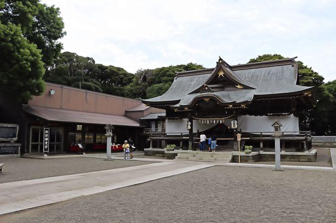 えびす顔の少彦名命が祀られている酒列磯崎神社