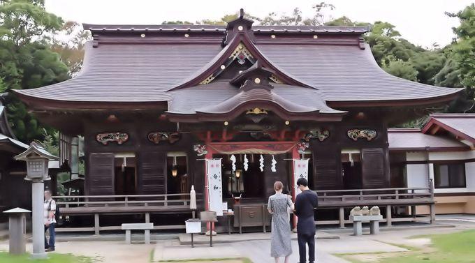 金運開花を予感させる「大洗磯崎神社」と「神磯の鳥居」