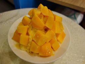 切りたてマンゴーがどっさり!台北「緑豆蒜シャーミー」で至福の芒果冰を