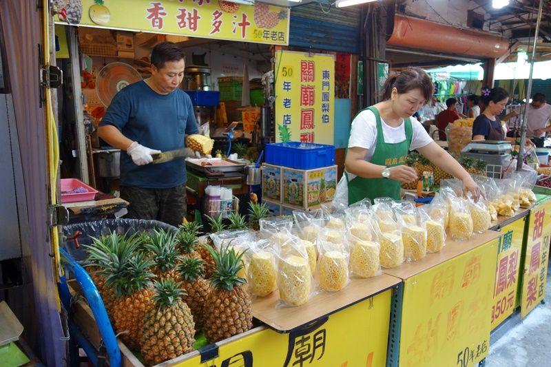 絶品!関廟産パイナップルを食べ歩こう