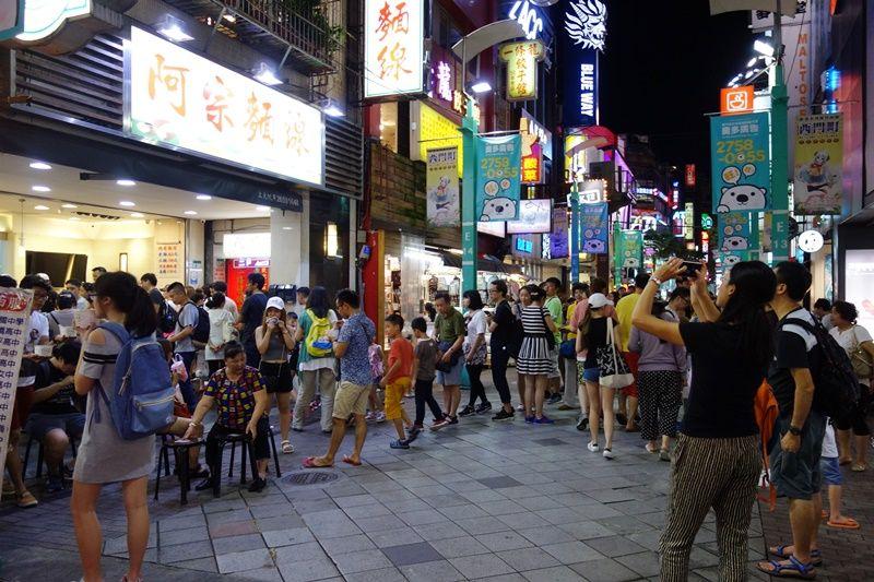 西門町の超有名店「阿宗麺線」