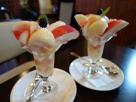 桃の郷山梨・自家農園の桃を使った絶品パフェが食べられるお店3選