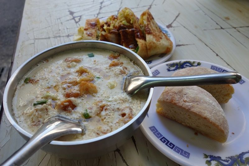 鹹豆漿と合わせて最高の朝食セットに!