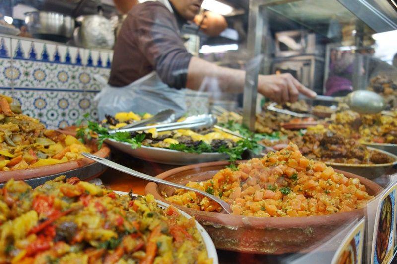 【3区】マルシェの中のモロッコ料理「Le Traiteur Marocain」