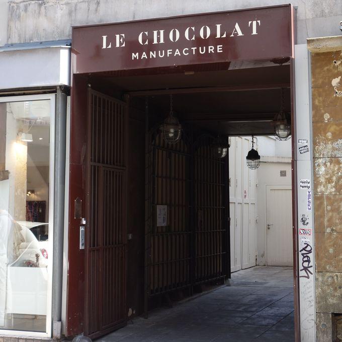 アラン・デュカス氏のこだわりが詰まったチョコレート工場