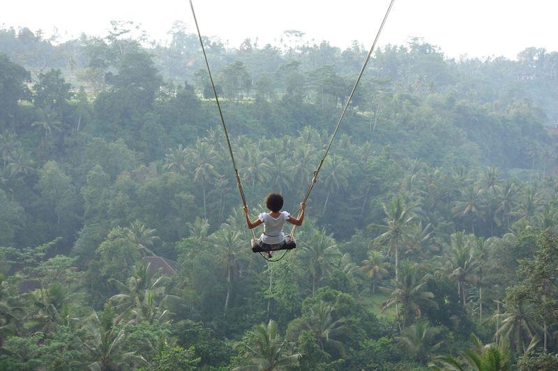 リアルハイジになれる絶景ブランコ!バリ島ウブド「Bali Swing」