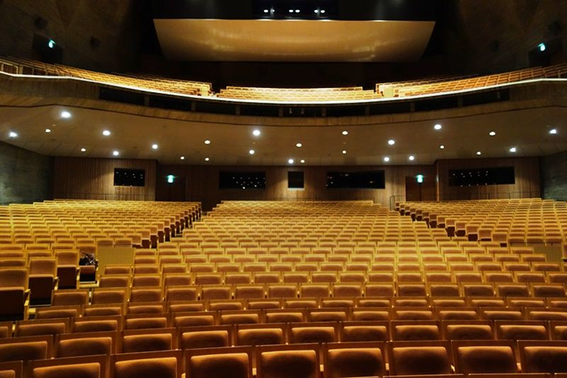 国内屈指の設備と機能性を誇る「島根県立いわみ芸術劇場」