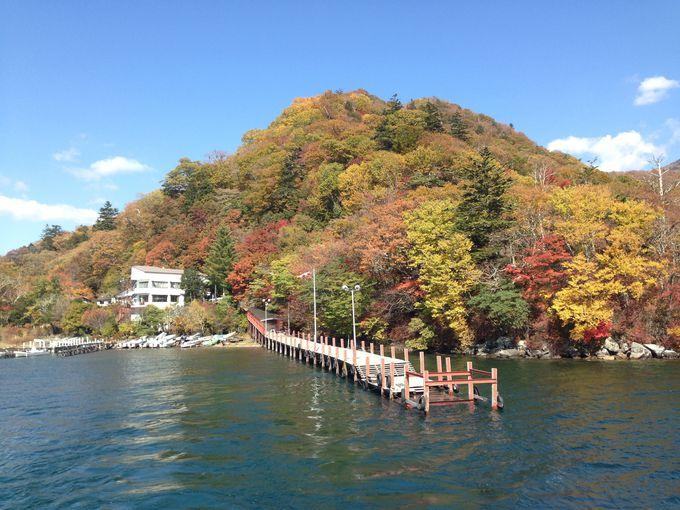 中禅寺湖クルージングのお薦めは55分の名所巡りコース