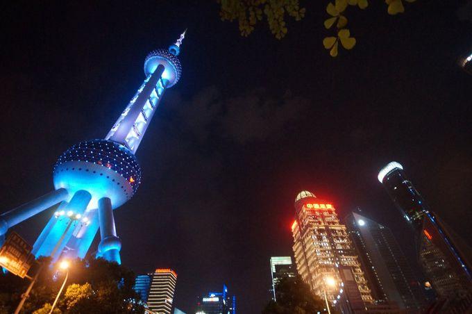 陸家嘴は中国憧れの近未来都市
