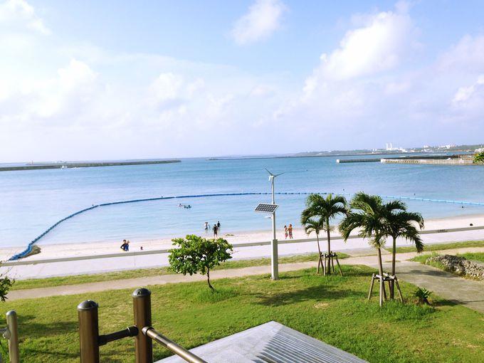 パイナガマビーチが目の前!